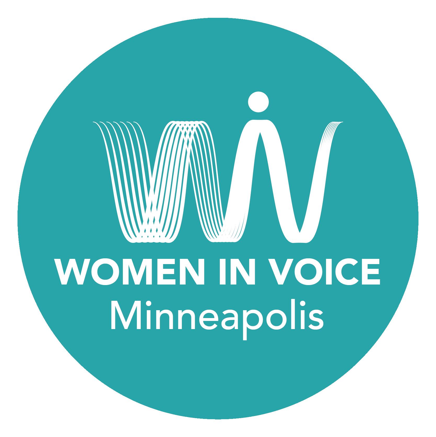 Women in Voice Minneapolis Logo