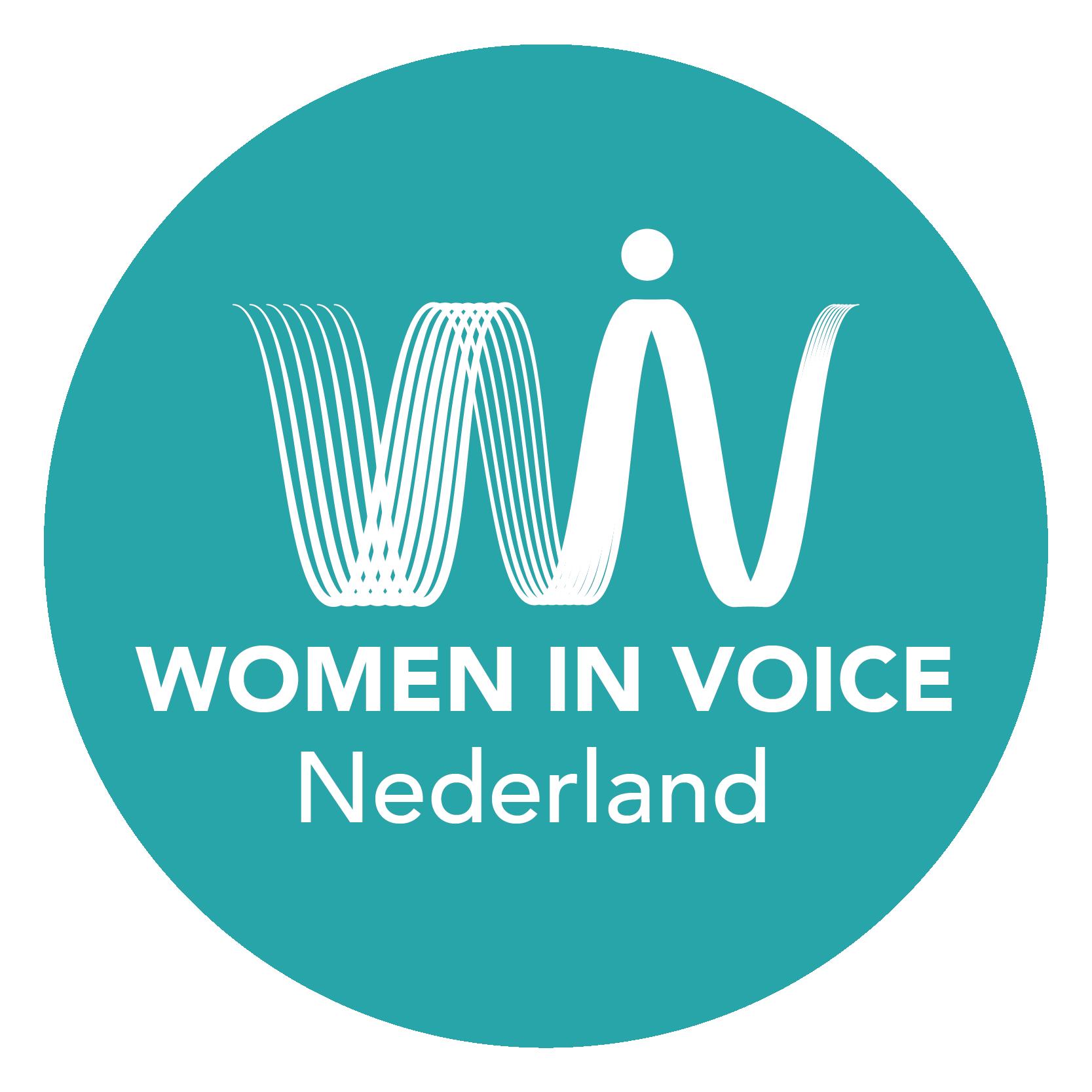 Women in Voice Nederland Logo