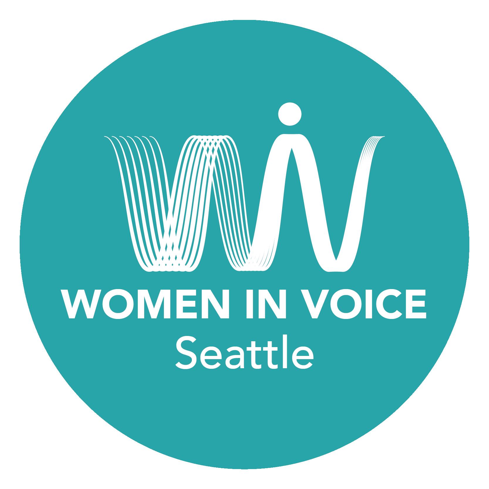 Women in Voice Seattle Logo