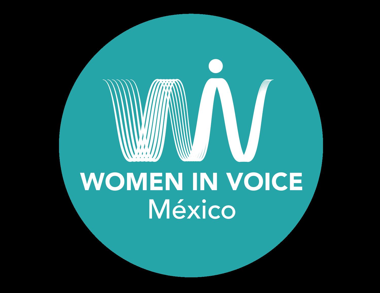 Women in Voice Mexico Logo