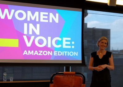 Jen at Women in Voice London
