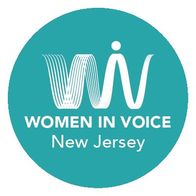Women in Voice New Jersey Logo