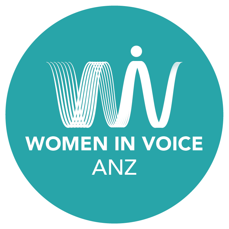 Women in Voice ANZ Logo