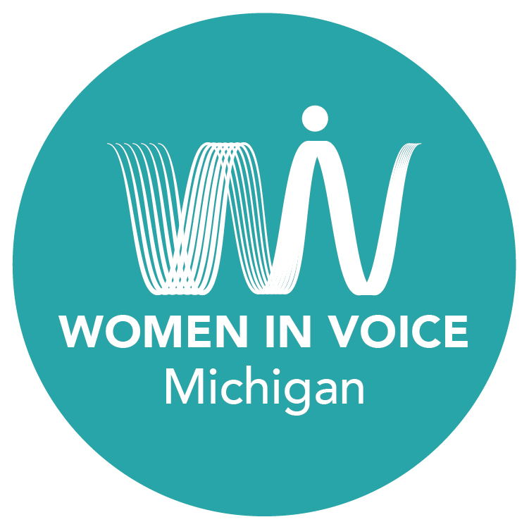 Women in Voice Michigan Logo