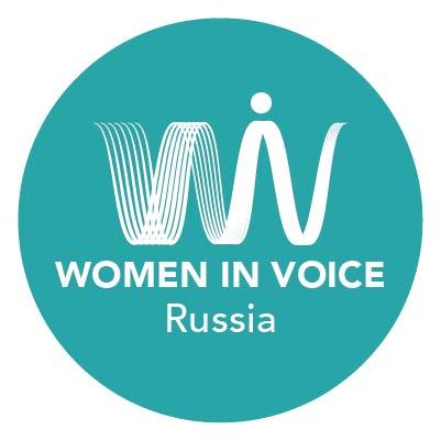 Logo of Women in Voice Russia