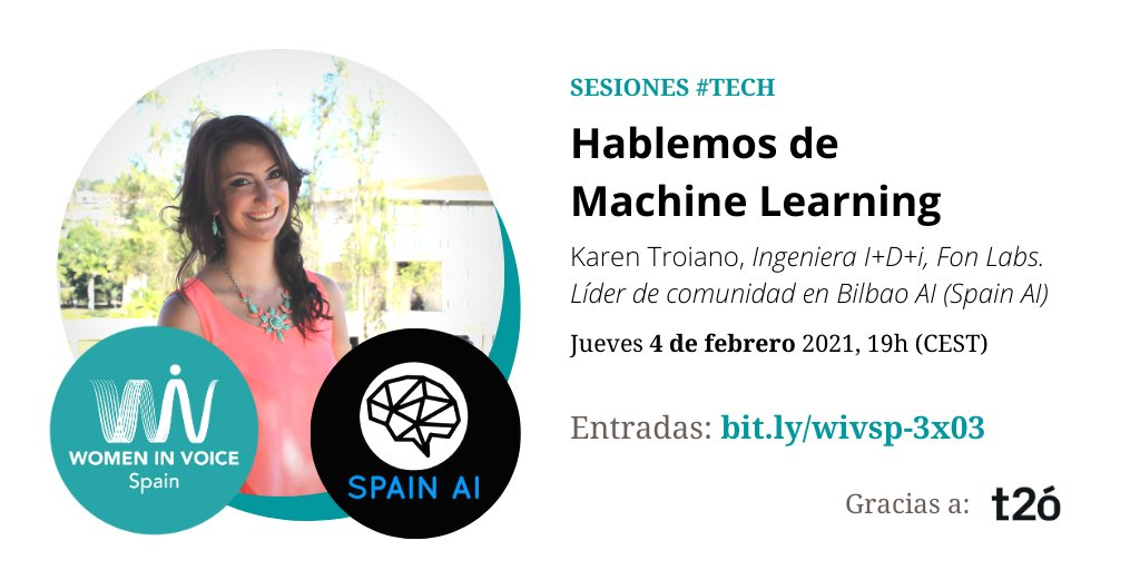 Women in Voice Spain Event, 4th of February