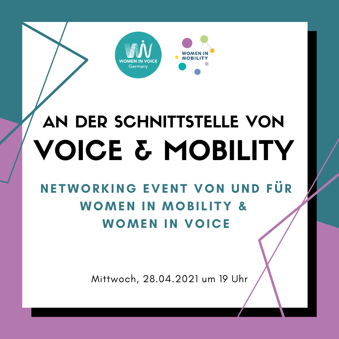 WiV DE: Women in Voice meet Women in Mobility